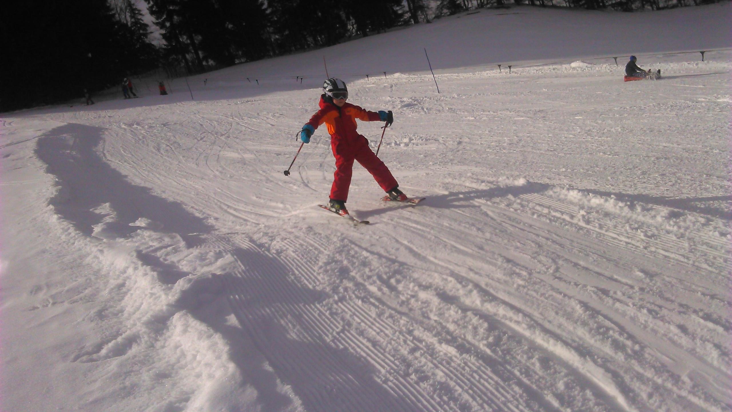 Skitraining Rieggis Februar 2015
