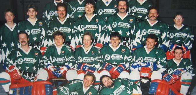 Mannschaft Eishockey 91