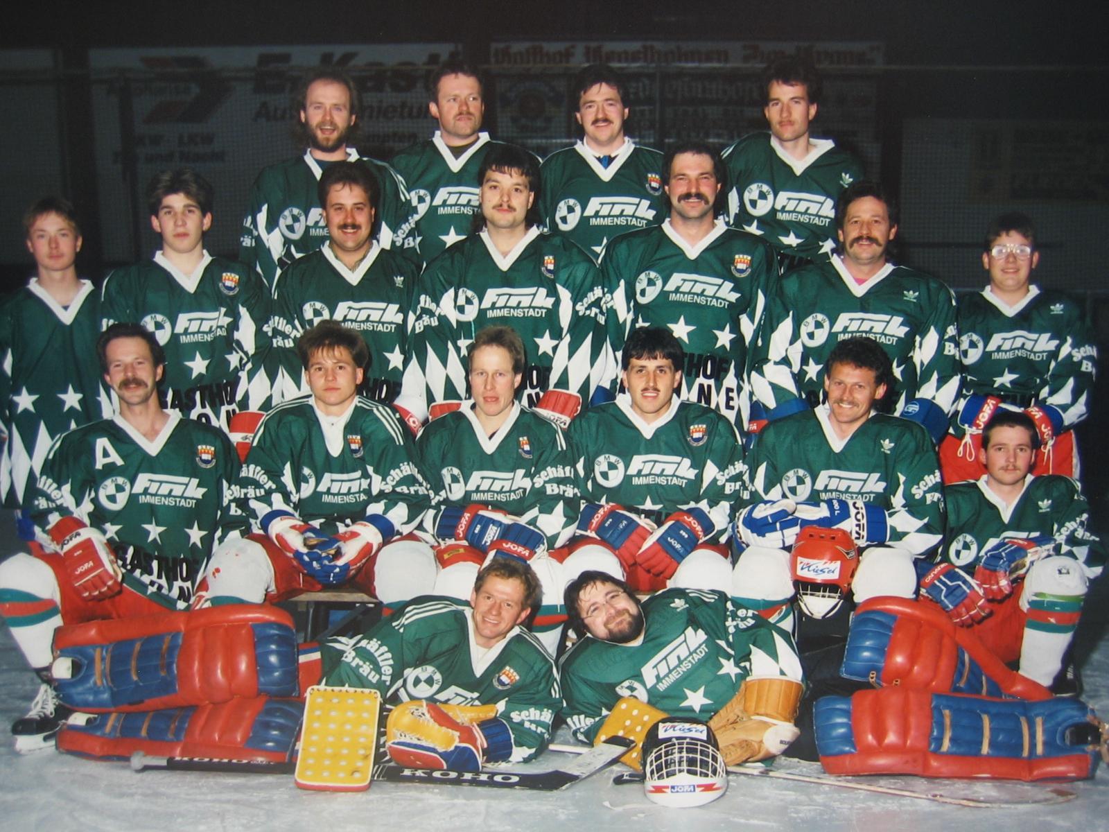 30 Jahre Abteilung Eishockey