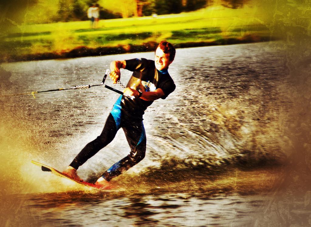 Wasserskifahren 2019