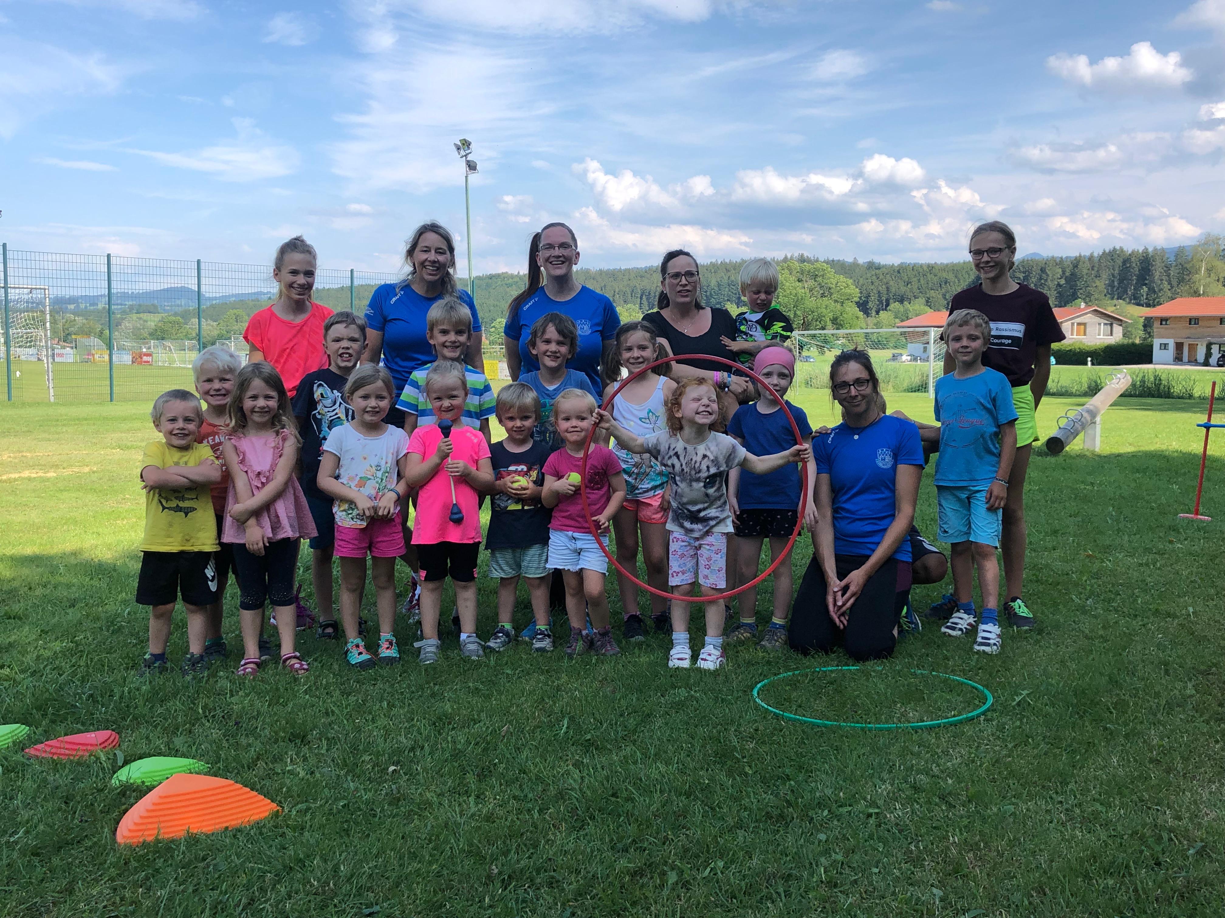 Laufen macht Spaß – Der SSV Kinderlauftreff